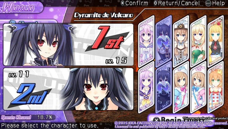 Image result for Hyperdimension Neptunia U: Action Unleashed