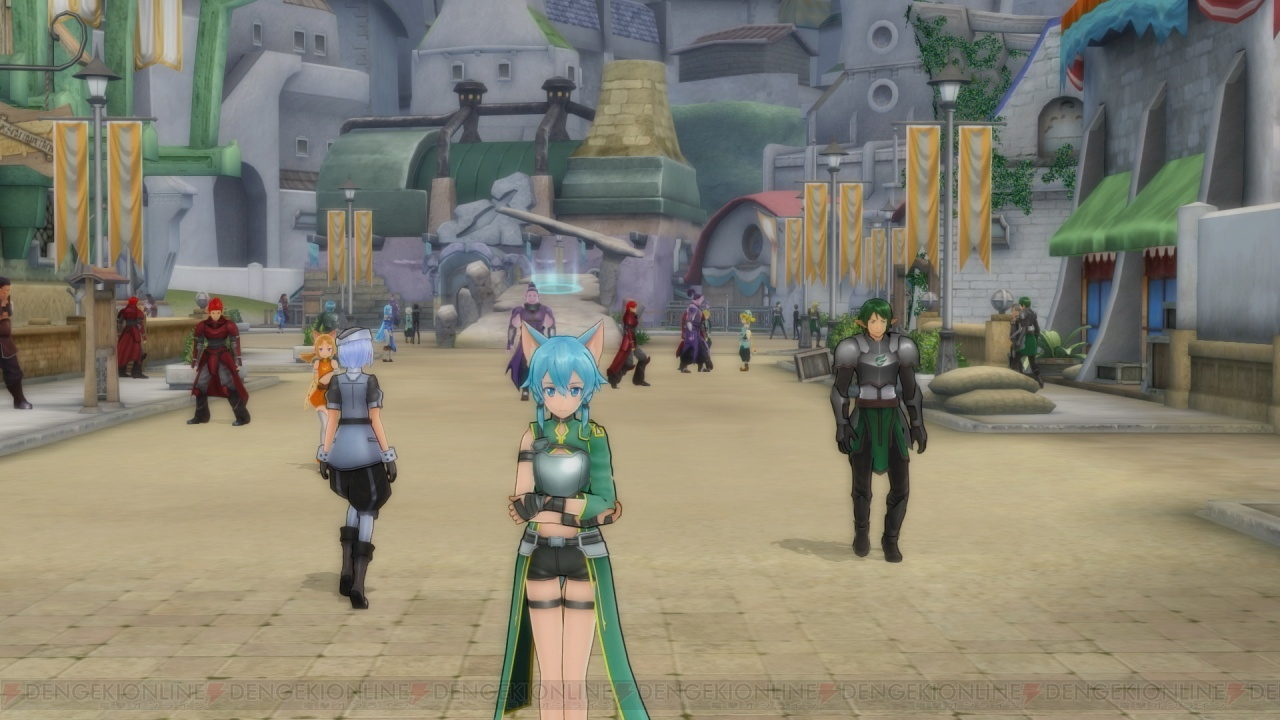 Explore the world of Sword Art Online again with new Re: Hollow