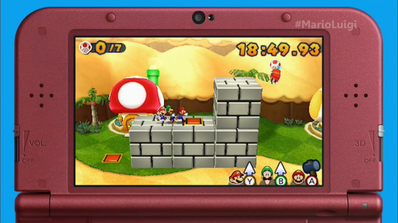 Mario Amp Luigi Paper Jam Announced For Nintendo 3ds Rpg Site
