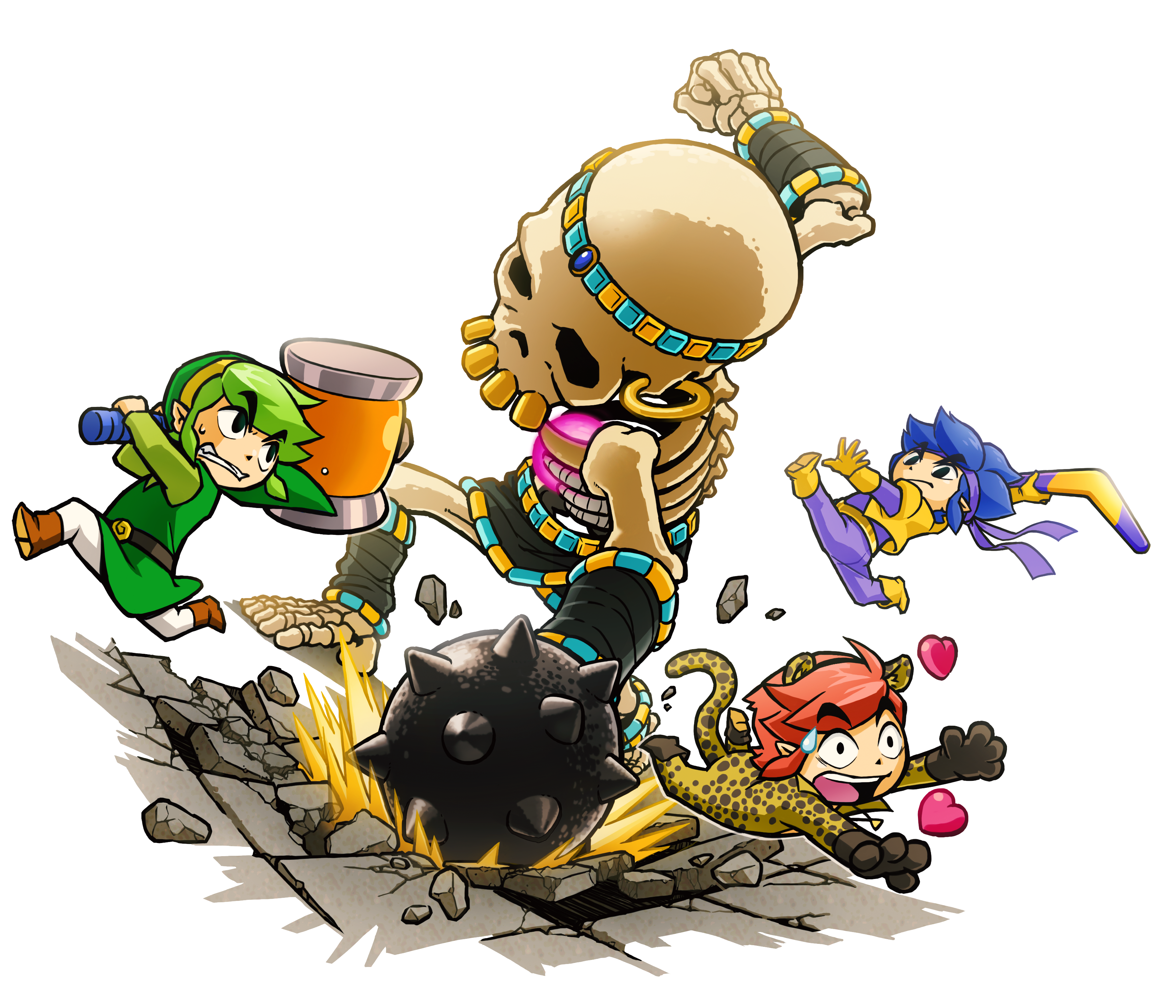 The Legend of Zelda: Triforce Heroes announced for 3DS | RPG