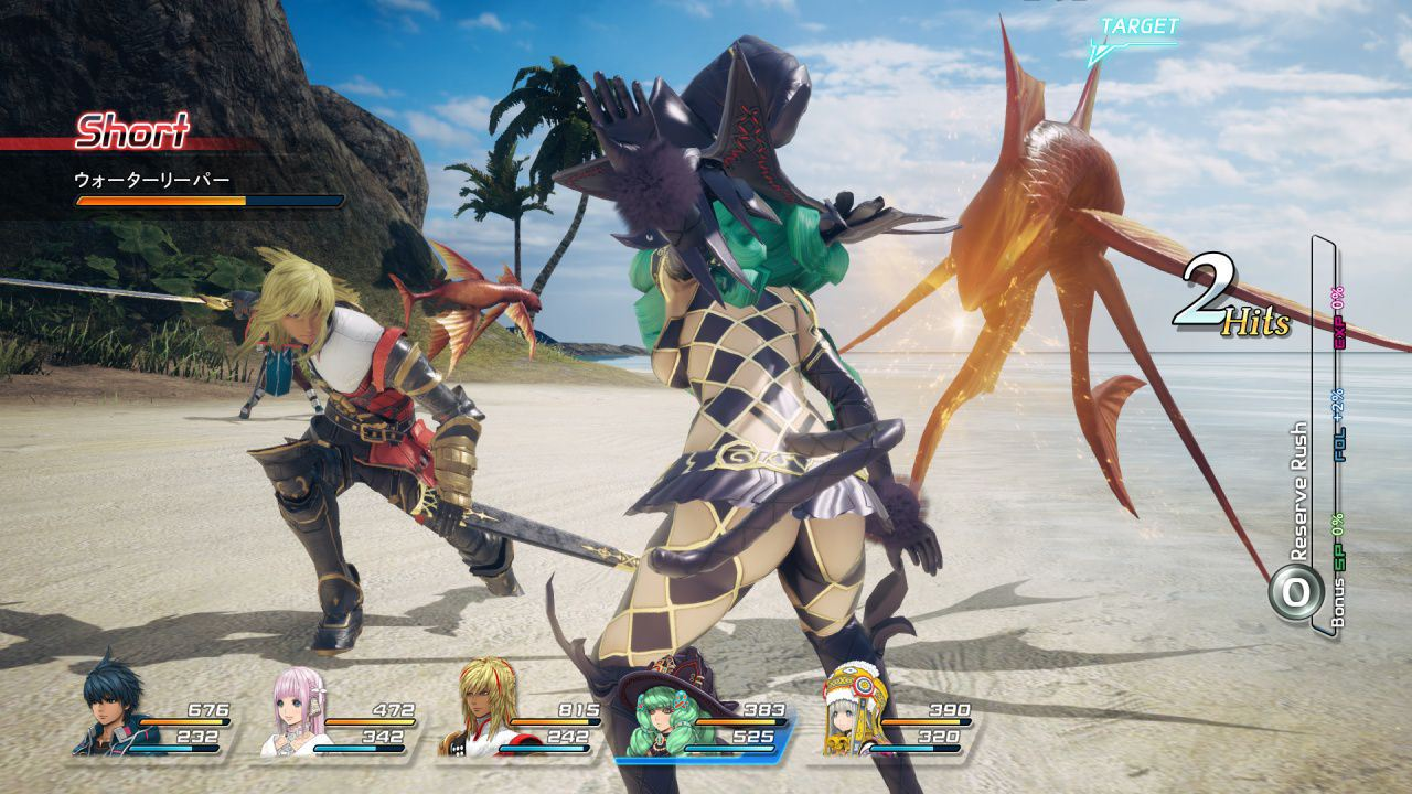 Star ocean first departure characters