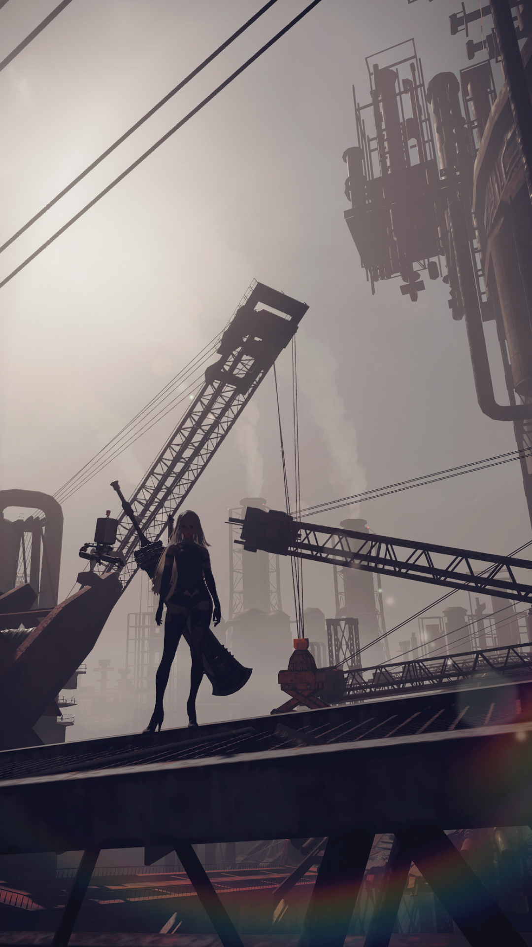 New Nier Automata Screenshots Introduce 9s And A2