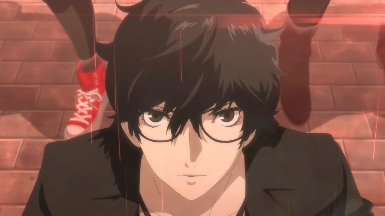 Yes, Persona 5's main character does have a canon name