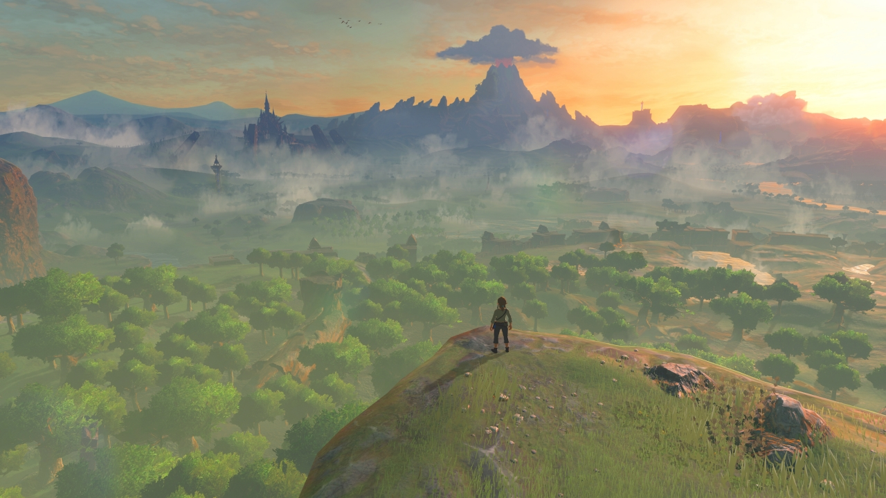 First footage from Zelda: Breath Of The Wild DLC suggests sequel setting