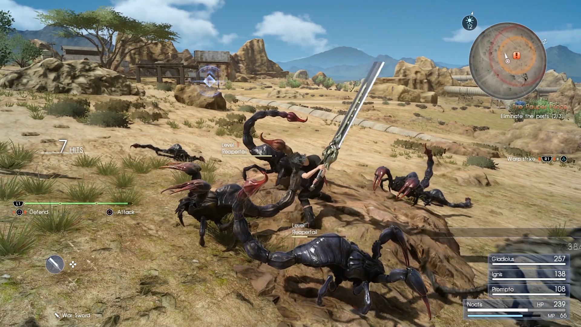 Znalezione obrazy dla zapytania final fantasy xv combat