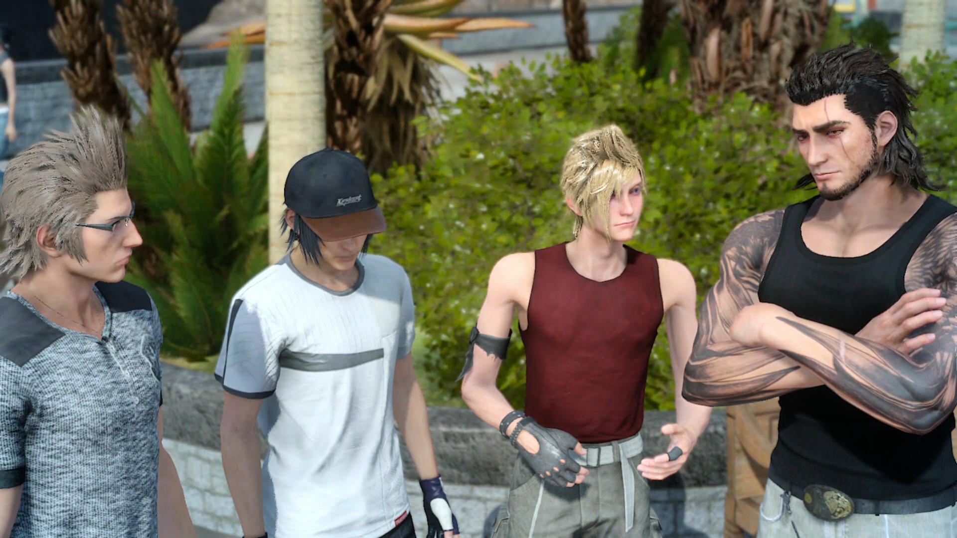 All the costumes/outfits for Prompto, Ignis and Gladio in FF15  where to find them