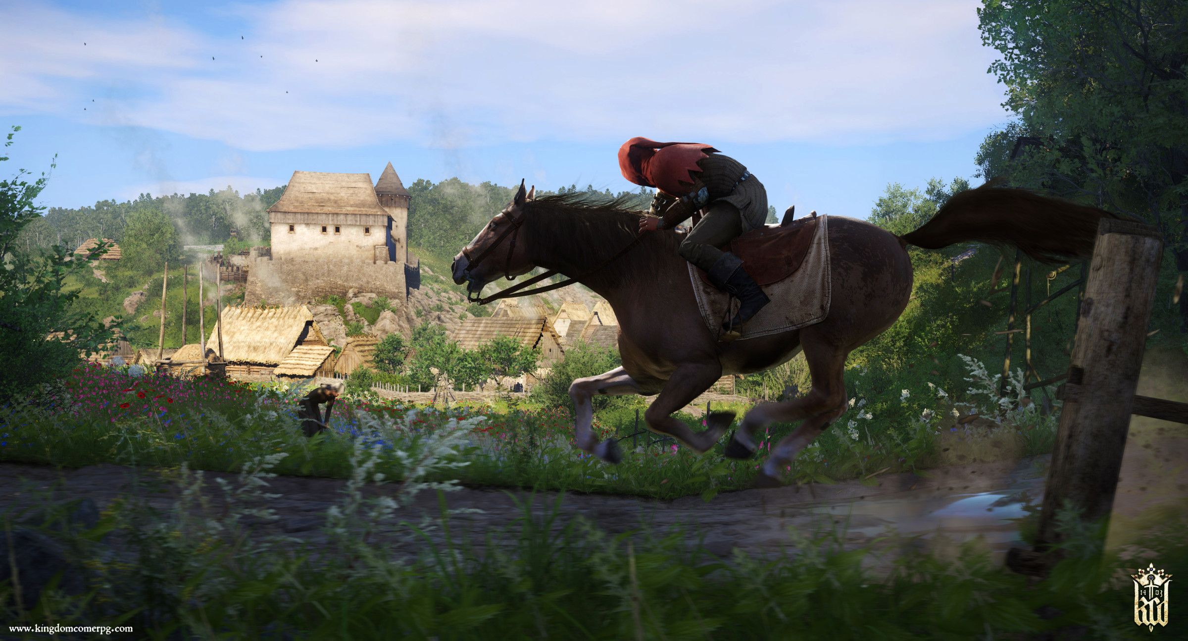 Kingdom Come Deliverance: How to get a Horse and armor, plus how to