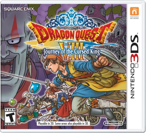 Journey of the Cursed King Releasing This January — Dragon Quest VIII