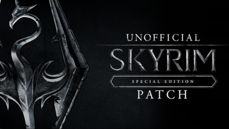 skyrim special edition errors fix patch