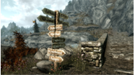 Skyrim mods signposts