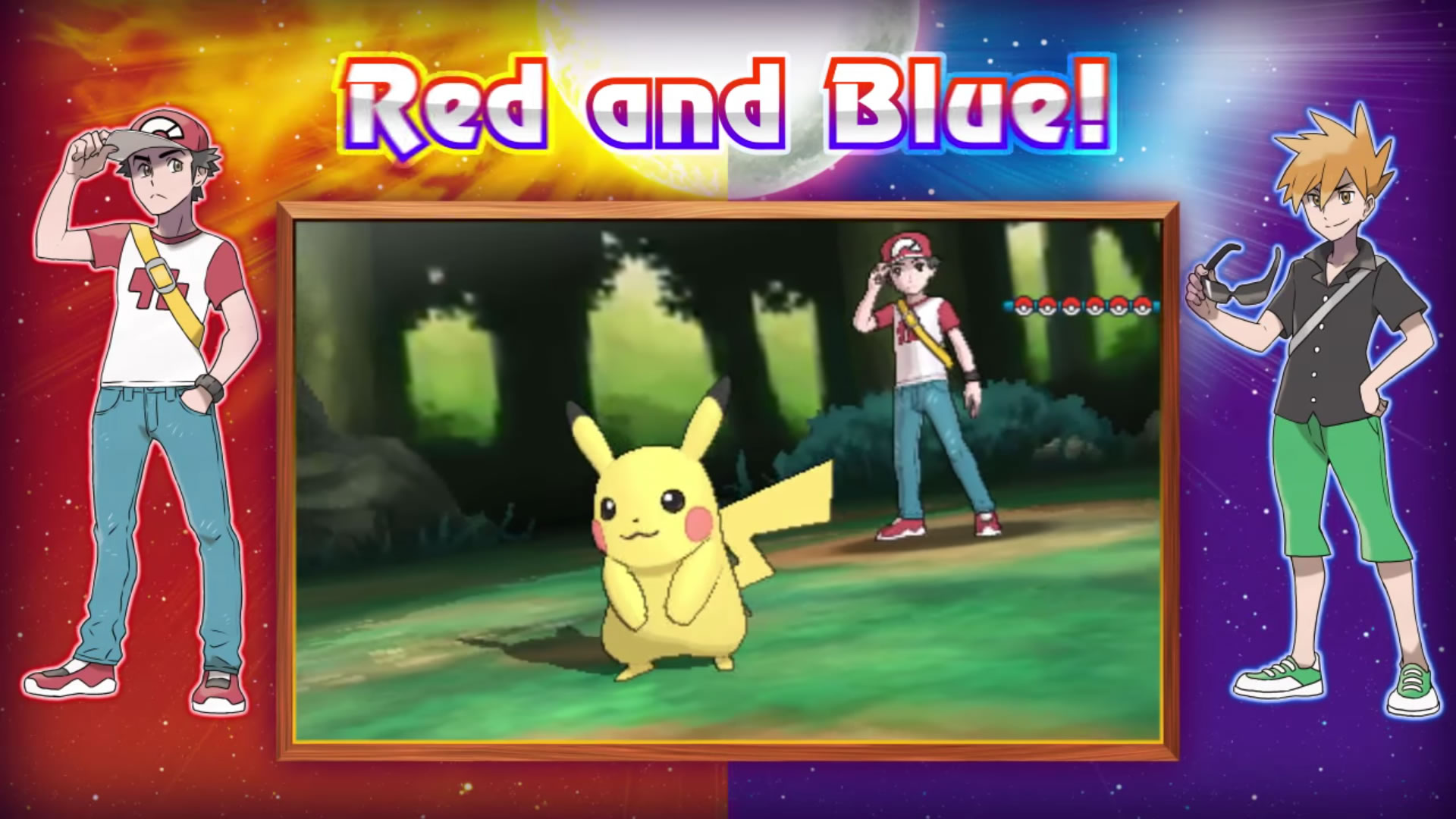 red and blue in sun and moon - photo #9
