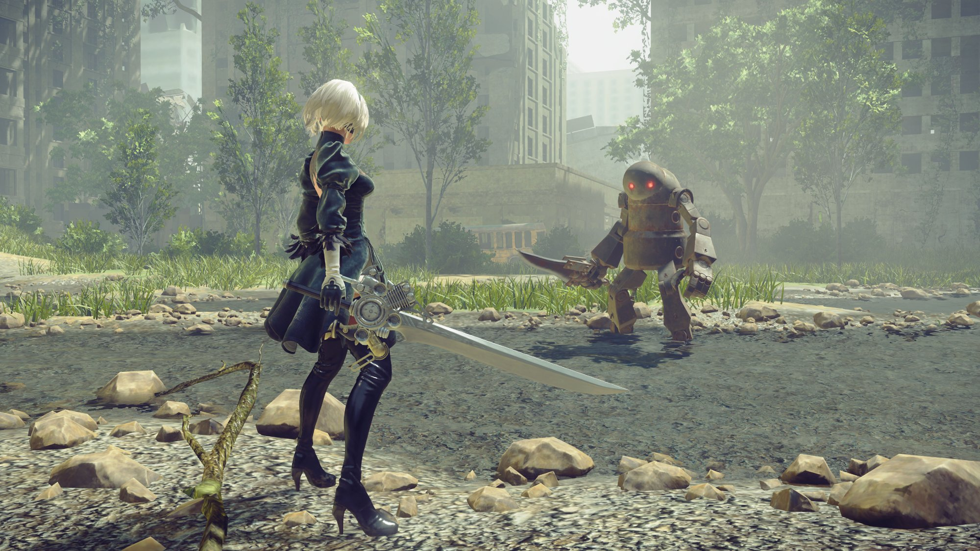 NieR: Automata Guide: The Best Weapons listed, plus where to