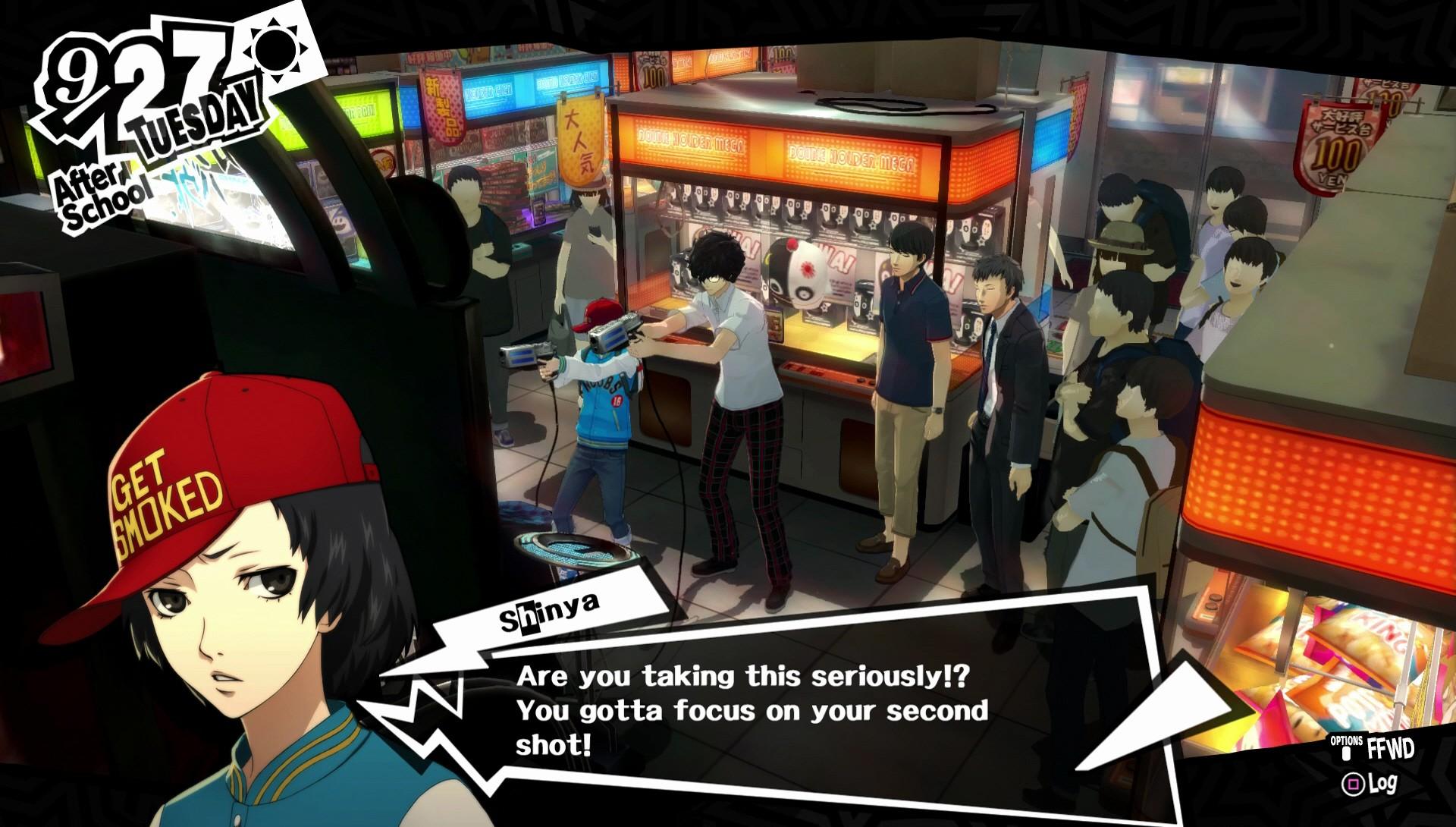 Persona 5 gifts hifumi Presents danganronpa V3
