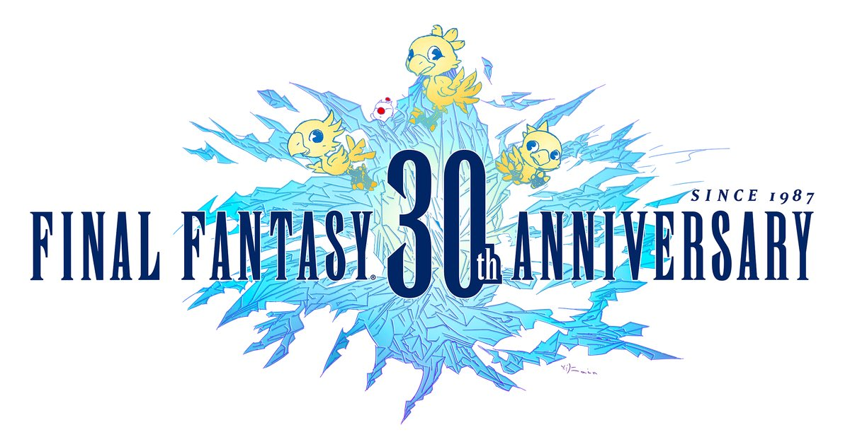 Final Fantasy - Page 5 Ff_30th_logo