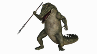Evil crocodile