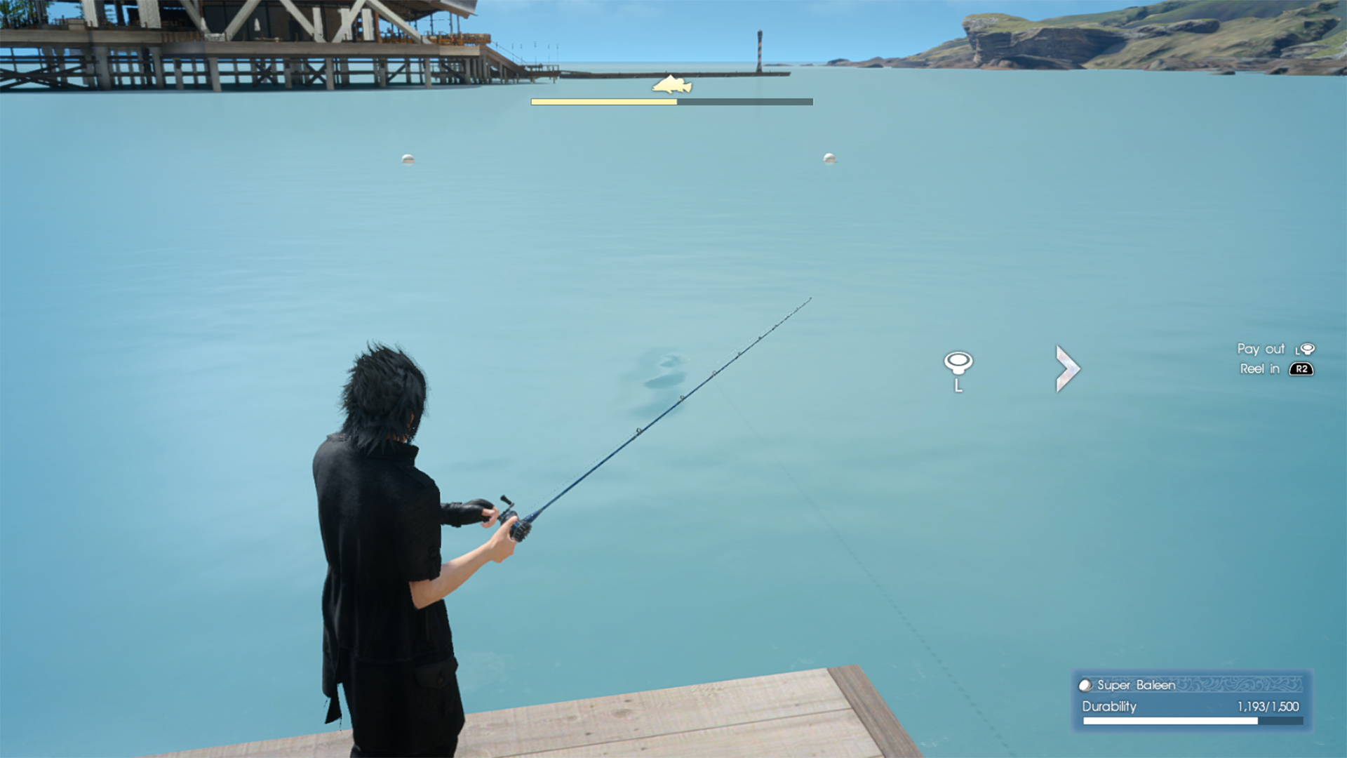 Final fantasy xv patch adds 60fps mode for ps4 pro for Ffxv fishing rods