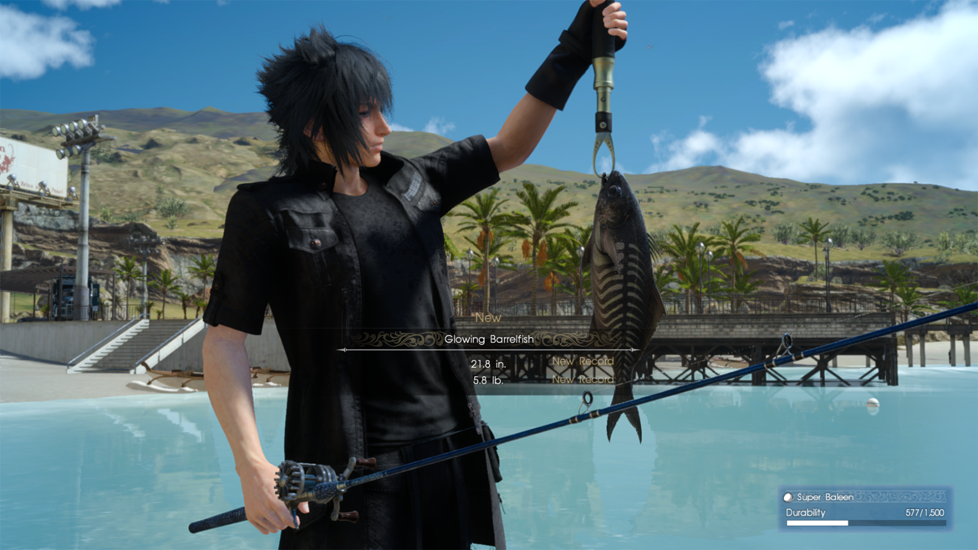 Final fantasy xv patch adds 60fps mode for ps4 pro for Final fantasy 15 fishing guide