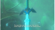 Zelda breath mastersword