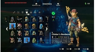 Zelda armor climbing