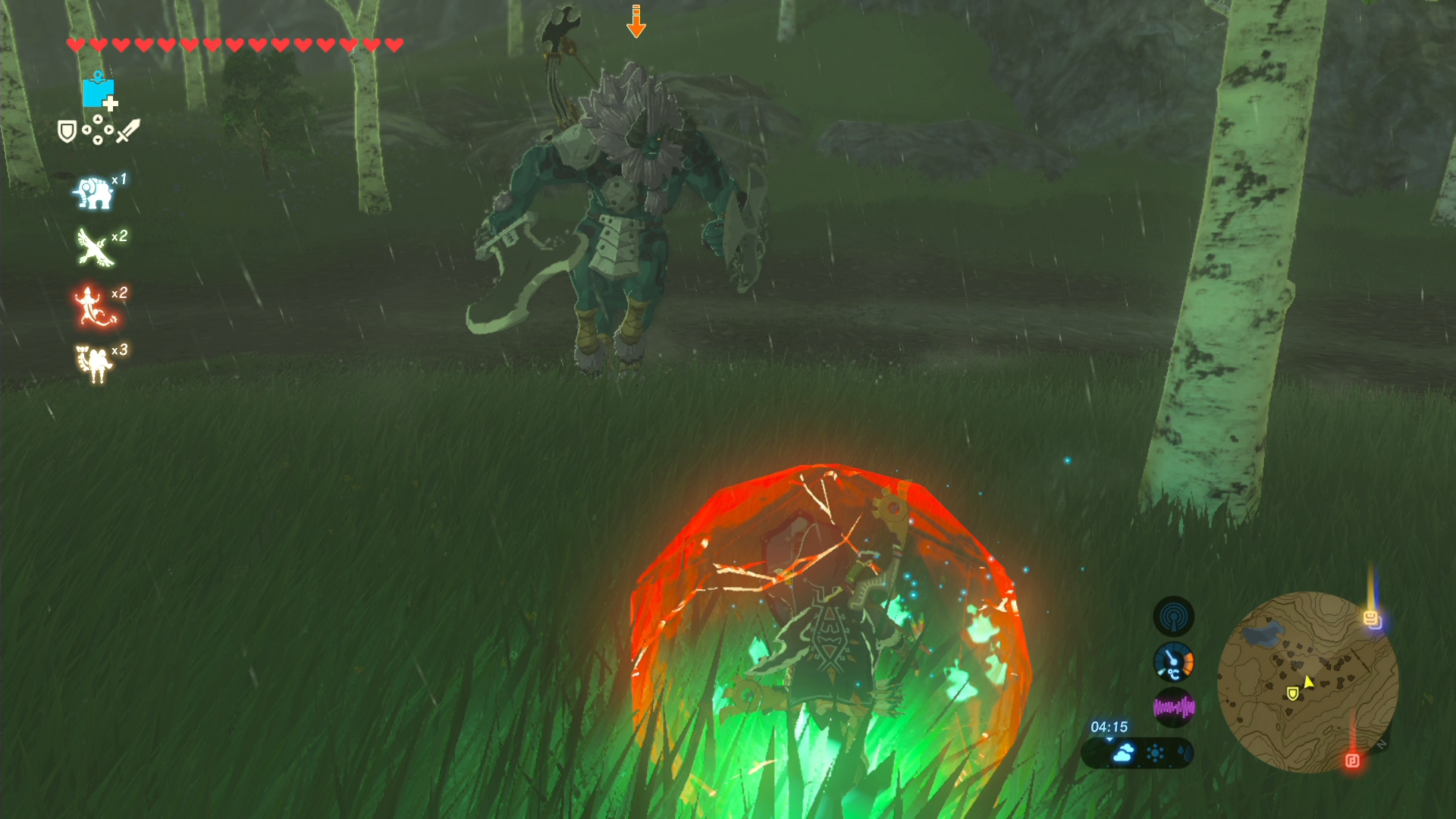 The Legend Of Zelda Breath Of The Wild Guide How To Beat The Open World Sub Bosses Rpg Site