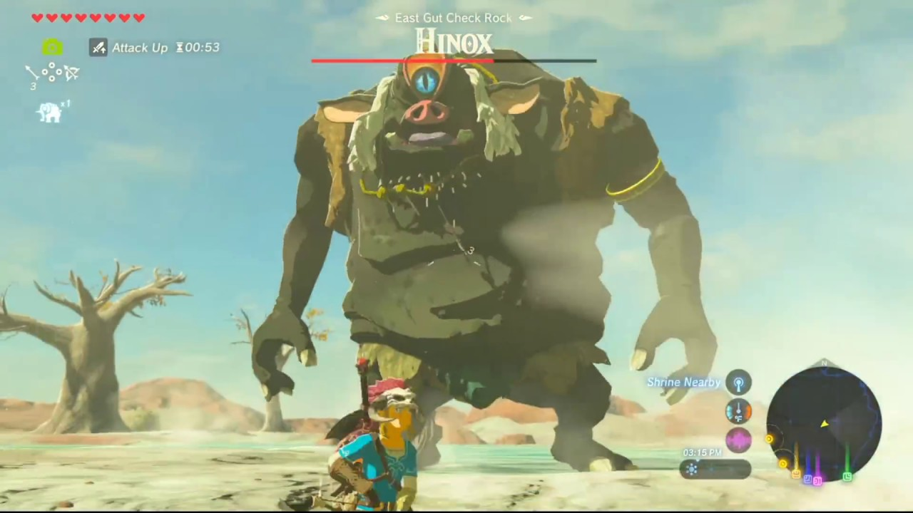 Breath Of The Wild Bosses >> The Legend Of Zelda Breath Of The Wild Guide How To Beat The Open