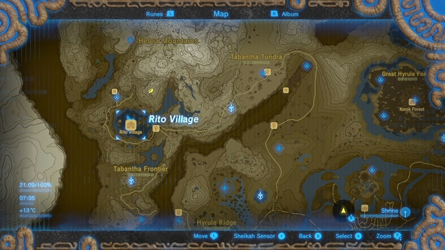 the legend of zelda breath of the wild guide from the ground up quest how to unlock tarrey. Black Bedroom Furniture Sets. Home Design Ideas