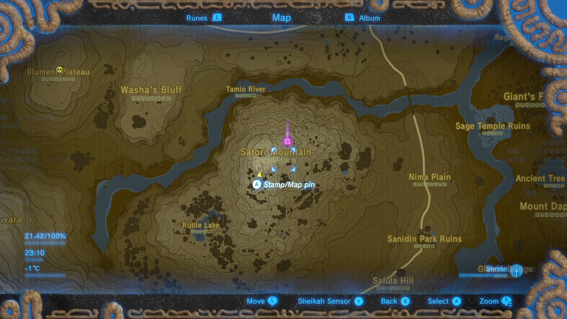 The legend of zelda breath of the wild guide how to find for How to buy a mountain