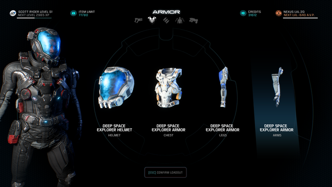 me andromeda best weapons