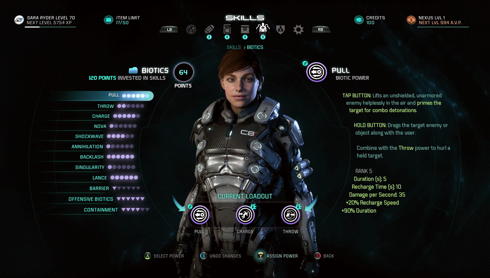 Mass Effect Andromeda   Multiplayer Builds