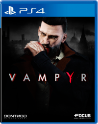 Vampyr box ps4
