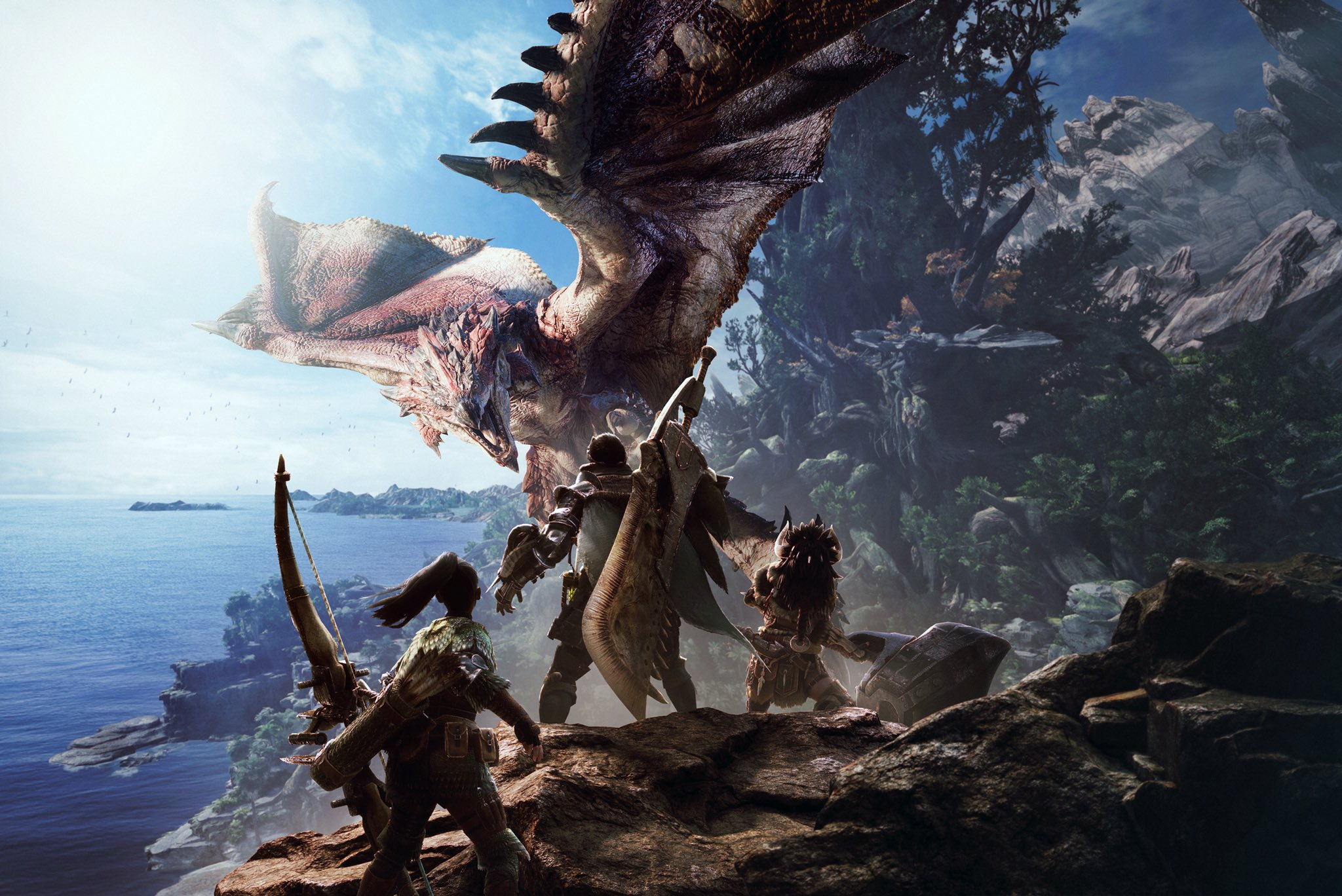 Monster Hunter World debuts at E3 2017, set to arrive next year