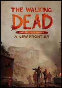 The walking dead a new frontier boxart