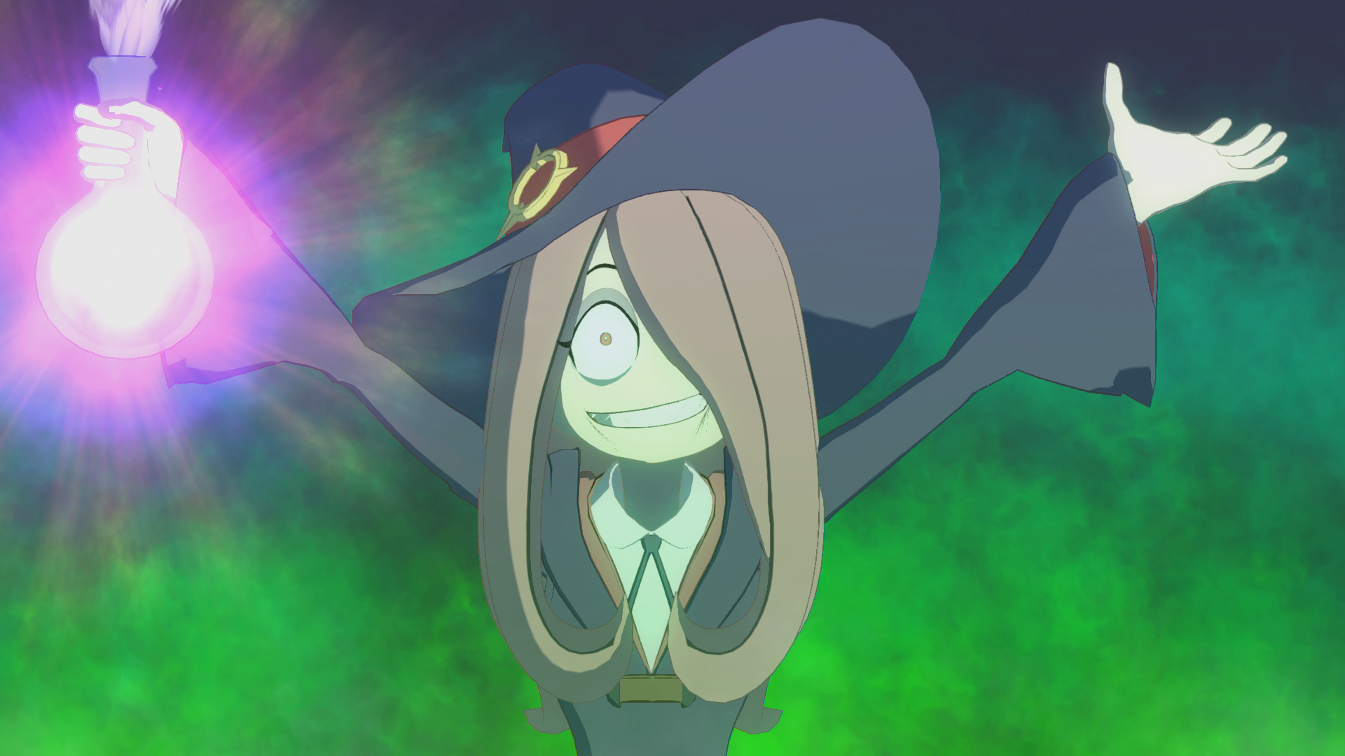 little witch academia  chamber of time gets a new trailer and character screenshots