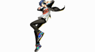 Persona 3 dancing moon night protag