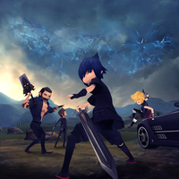 Final fantasy xv pocket edition keyart