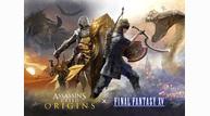 Final fantasy xv assassins creed keyart