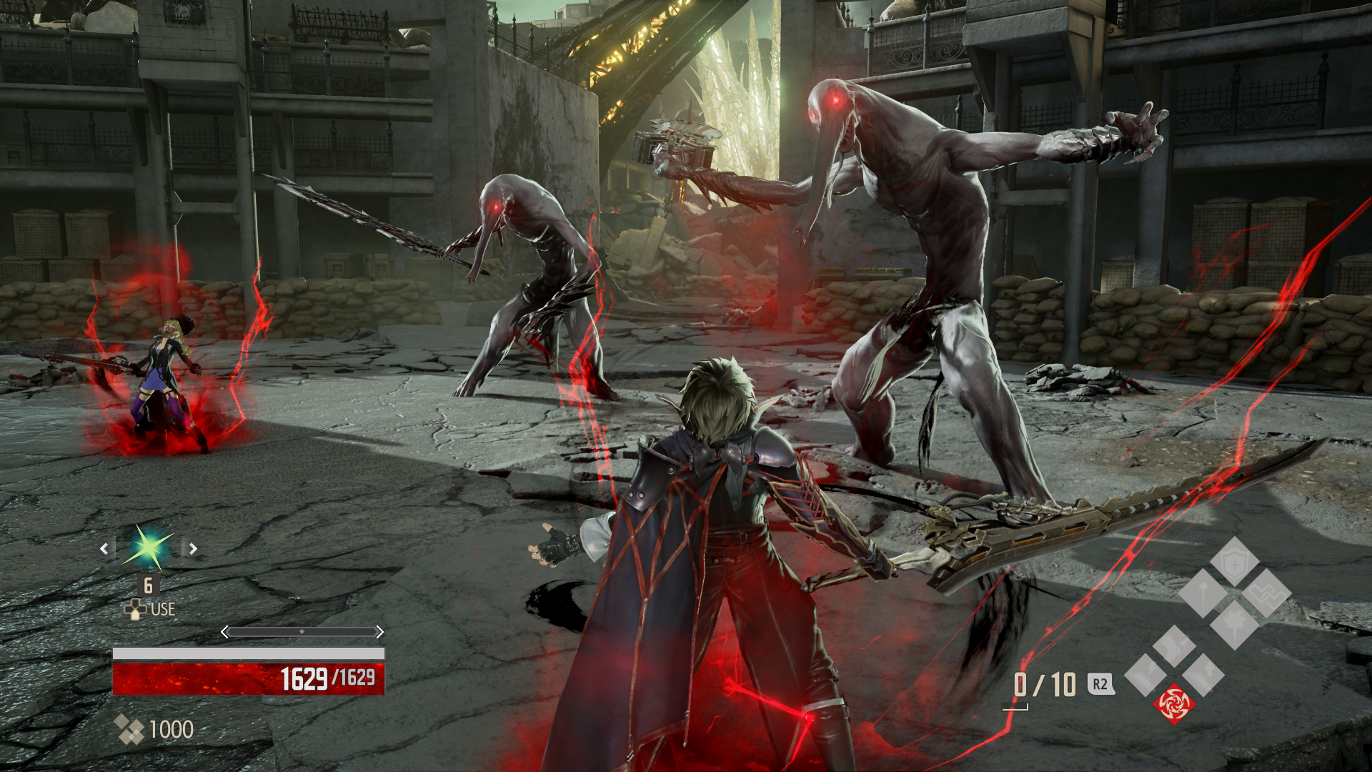 New Code Vein PS4 Gameplay Premieres Io in Action   Fextralife