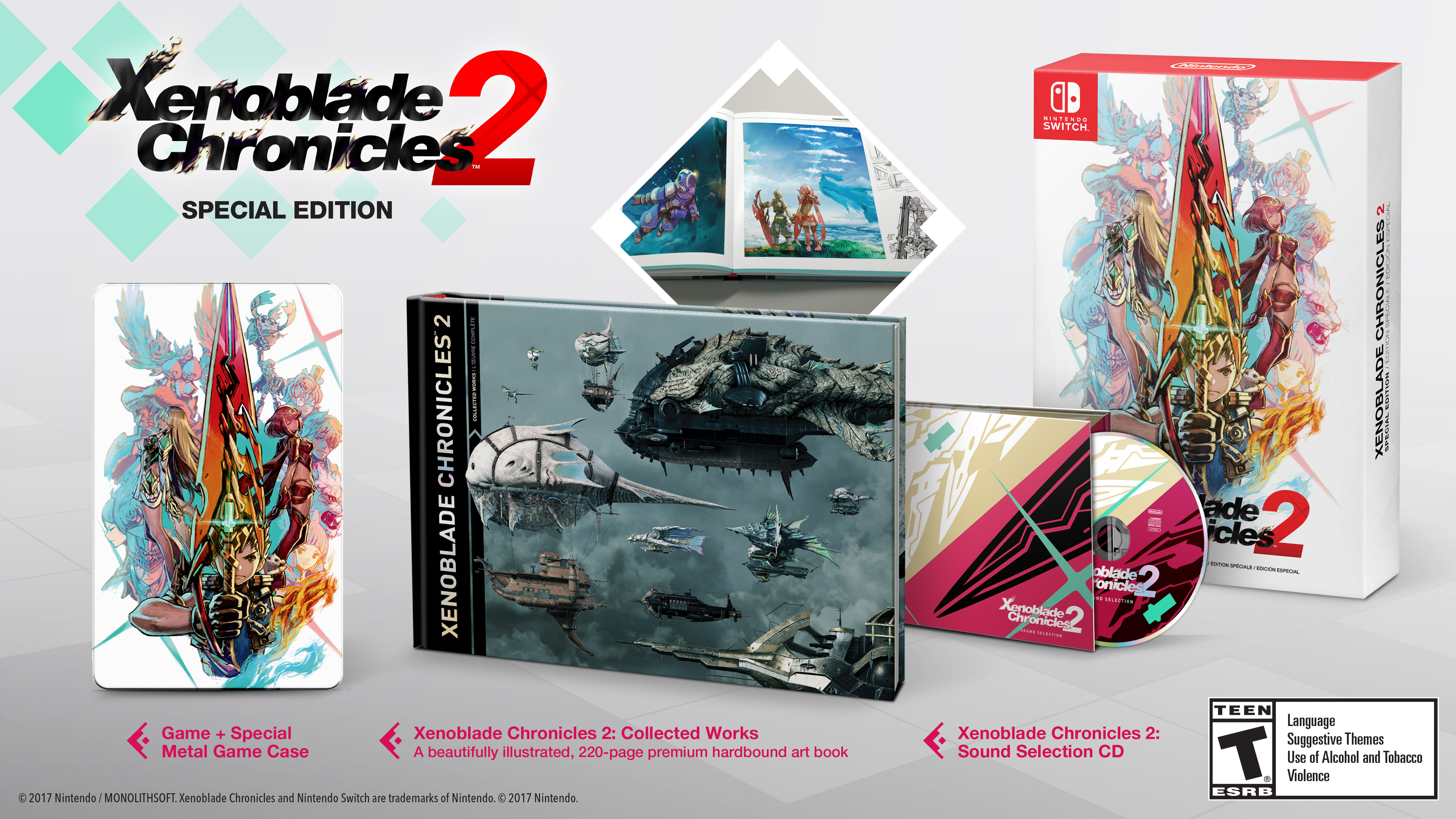 Xenoblade Chronicles 2 is out December 1st, and there's a