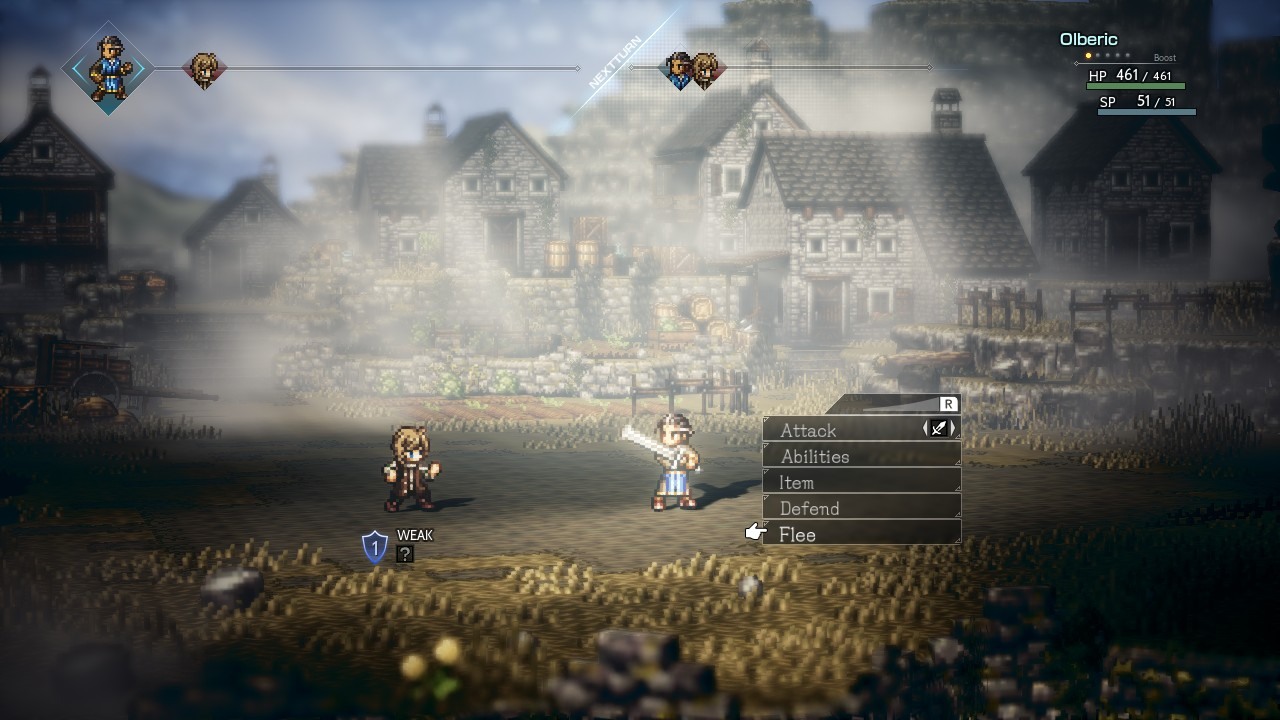 Project Octopath Traveler Sep on 4 Way Switch