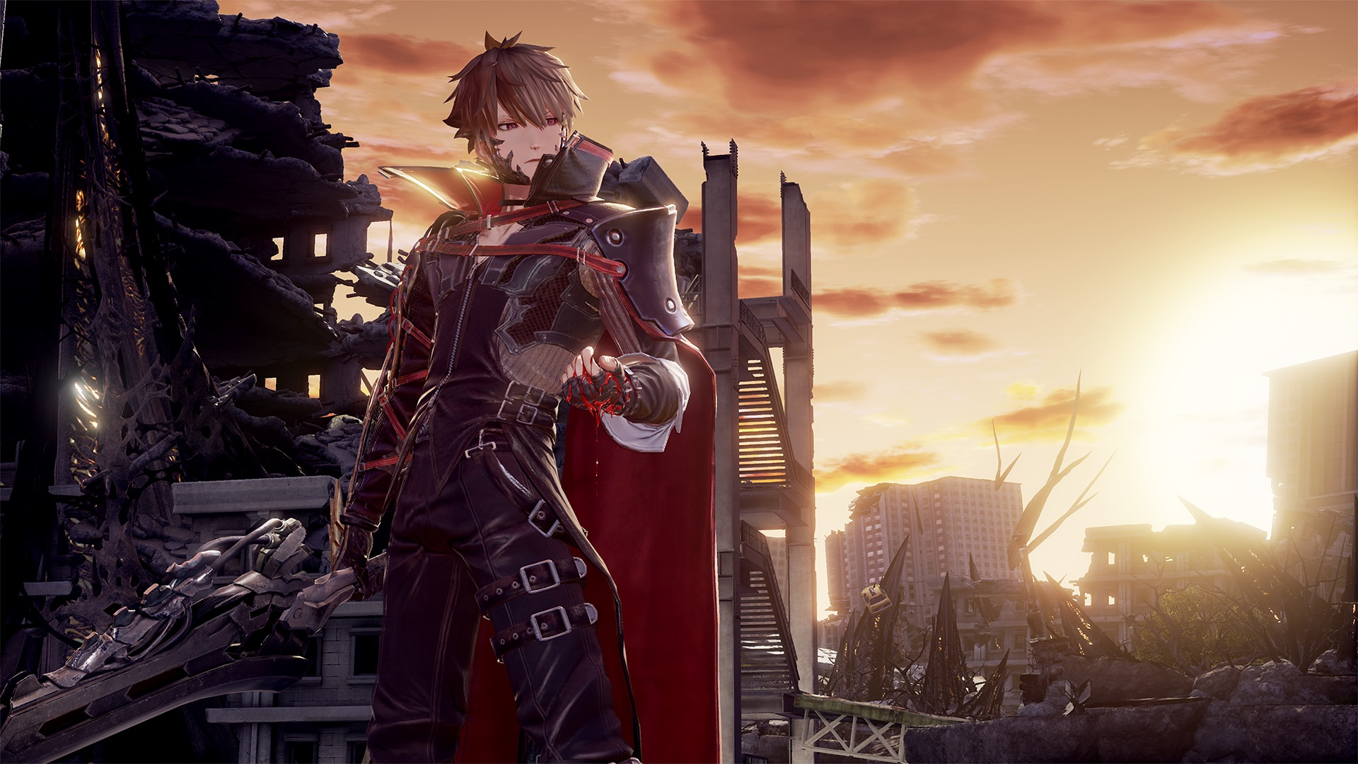 Code Vein details Combat and Character Creation in new ...