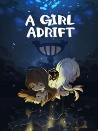 A girl adrift art