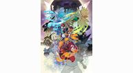 Pokemon ultra sun moon story illustration art