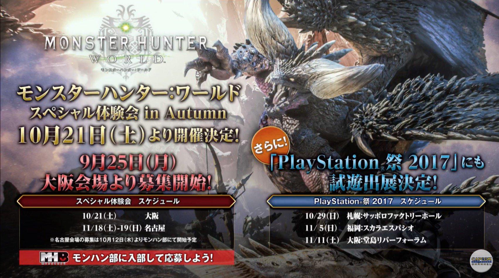 Monster Hunter World Events