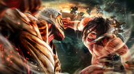 Attack on titan 2 keyart