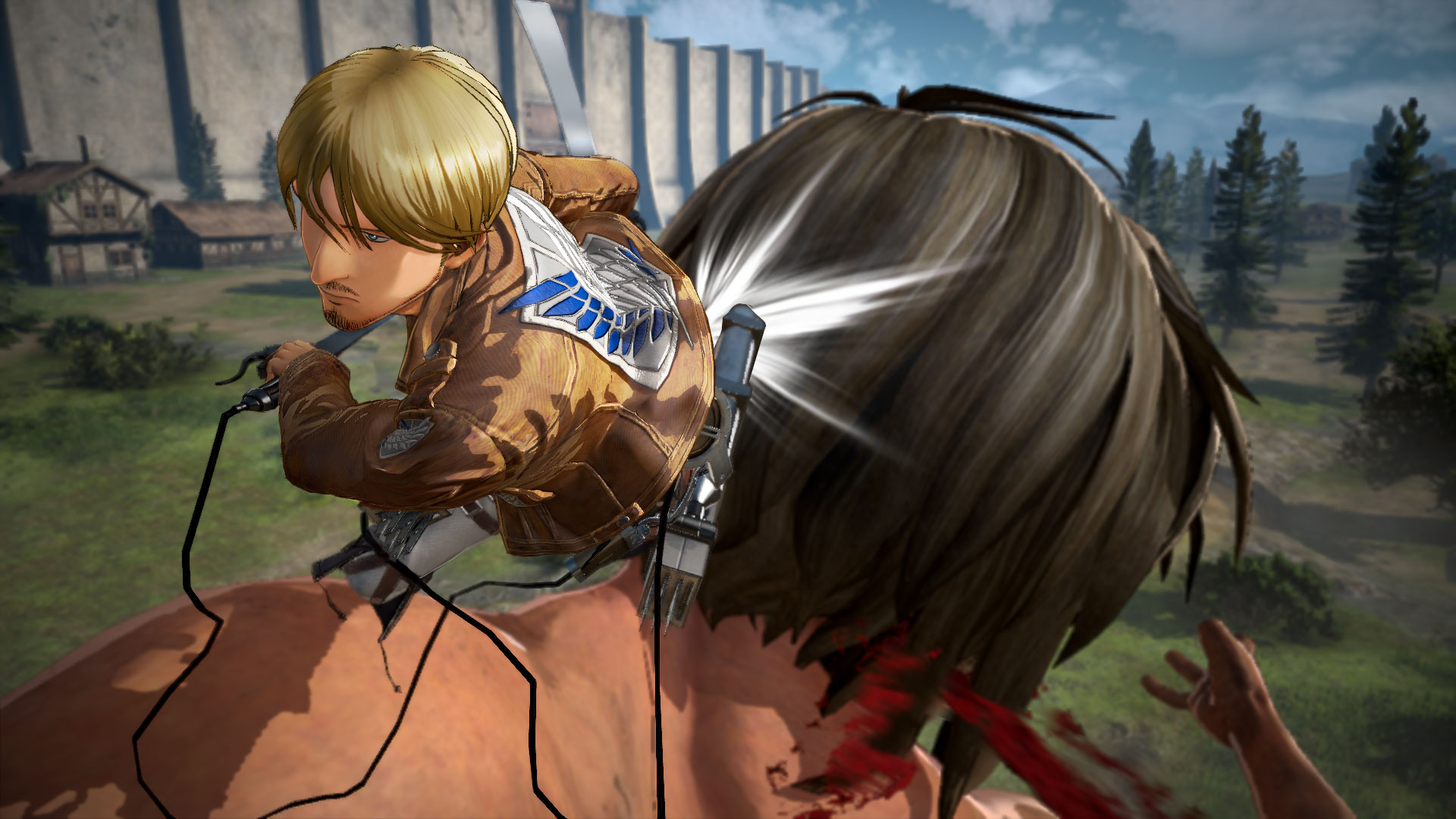 Attack on Titan 2 screenshots introduce characters and ...
