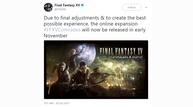 Ffxv comrades delay
