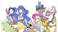 Digimon story cyber sleuth hackers memory le art