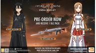 Sword art online fatal bullet preorder eu