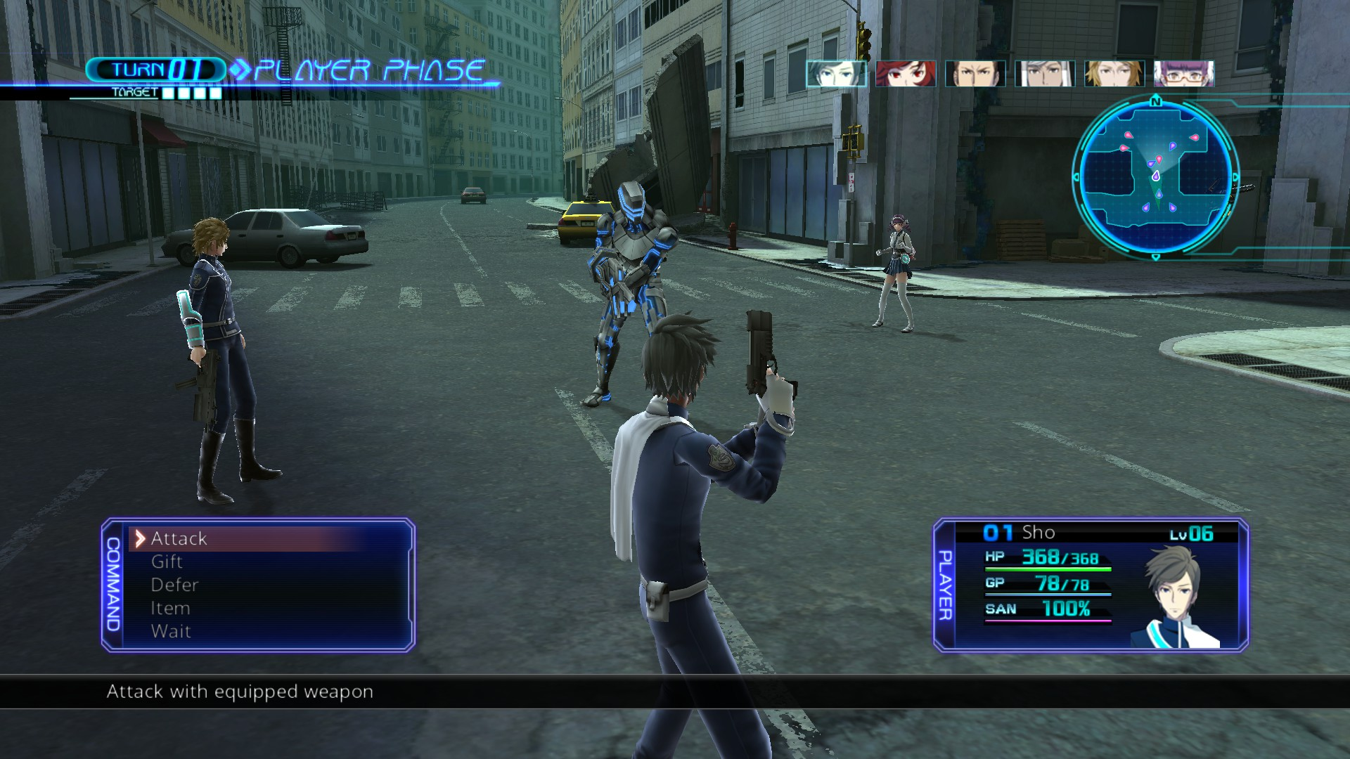 Lost Dimension PC Port Impressions | RPG Site