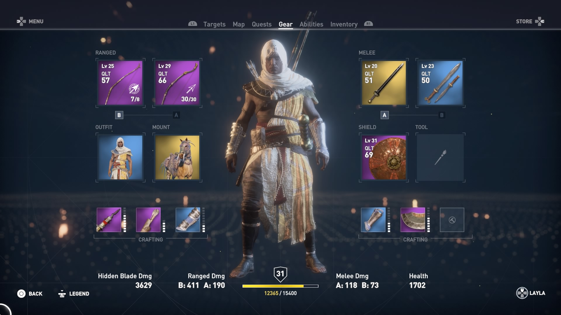 Assassin's Creed: Origins Hidden Blade and Upgrade Guide | RPG Site